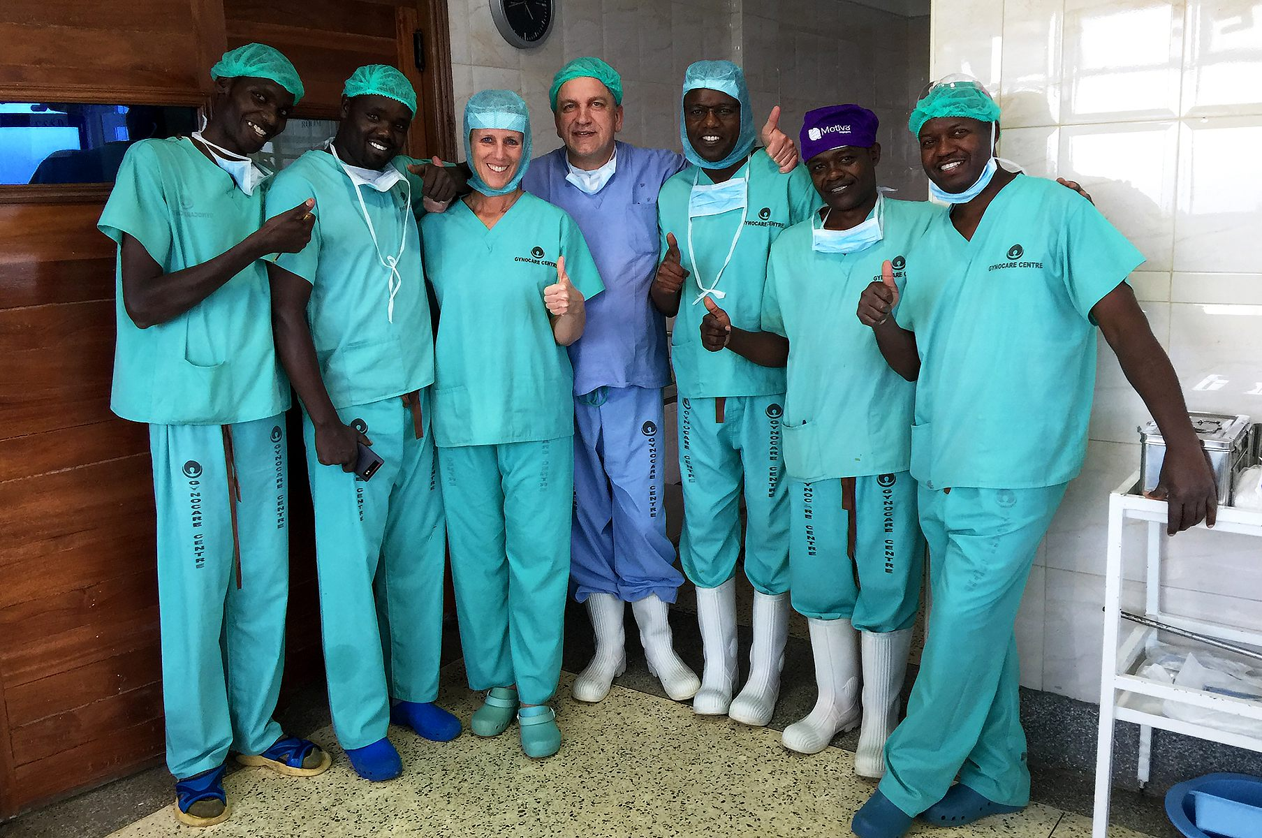 Hospitation im Gynocare Women's & Fistula Hospital